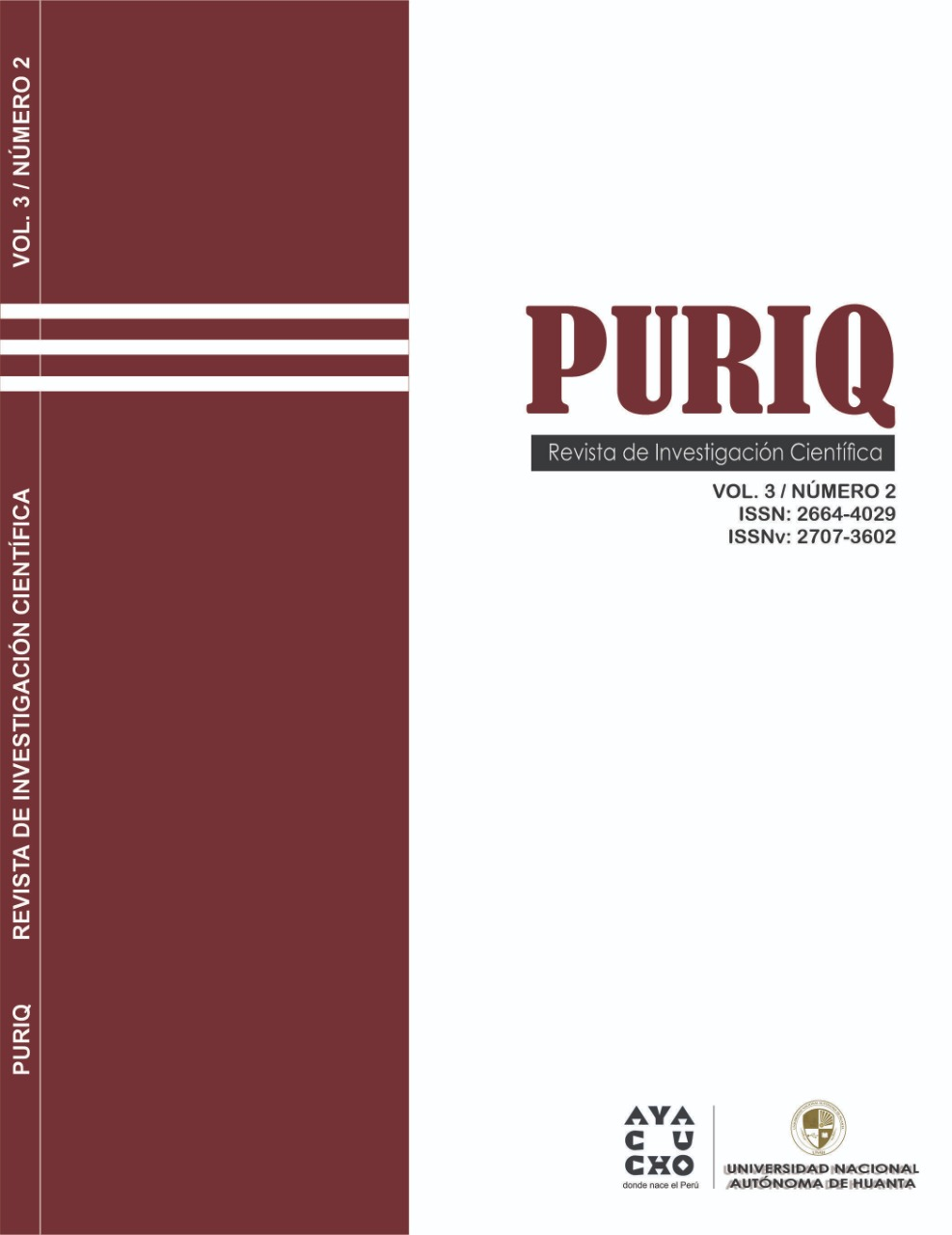 Ver Vol. 3 Núm. 2 (2021): Mayo-Agosto